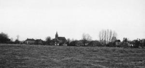 Vergezicht op het dorp 1975