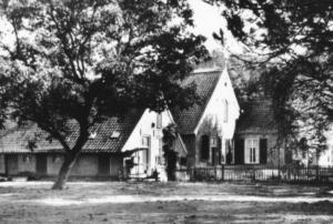 """Mooi aangezicht boerderij """"Oude Renger"""" 1960"""