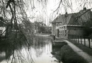 Needseweg Wandelpad langst de Berkel ten hoogte van de voormalige kleuterschool 1965