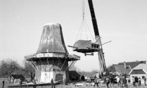 Renovatie van de molen krijgt veel aandacht 1979